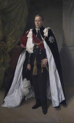 King George VI of the United Kingdom (r. 1936 - father of Queen Elizabeth II Papua Nova Guiné, Trinidad E Tobago, Order Of The Garter, King Outfit, James Gunn, English Royal Family, English Royalty, Herzog, Santa Lucia