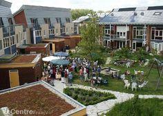 Ecoquartier Eva Lanxmeer de Culemborg aux Pays-Bas