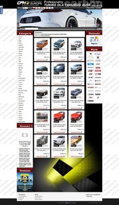 Zamknęliśmy kolejny projekt! Do grona naszych zadowolonych klientów dołączył właściciel firmy CFH Europe, dla którego zaprojektowaliśmy wyjątkową szatę graficzną i wdrożyliśmy oprogramowanie sklepu internetowego z akcesoriami i częściami samochodowymi. Zapraszamy do oglądania i robienia zakupów w sklepie http://www.cfh-europe.eu/