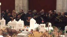Villancico solidario de las plantillas del Conquense y Ciudad Encantada