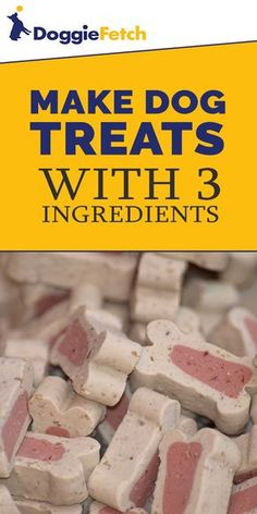 #Dogtreats don't need to be store-bought. Click here to learn how to make your own.