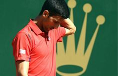 #NovakDjokovic Has Been #Knock Out Of The #MonteCarlo.........