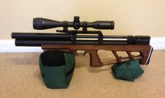 At 27.0 inches long and 7 pounds 13 ounces, the Cricket is one of the smallest and lightest PCP rifles in my collection.