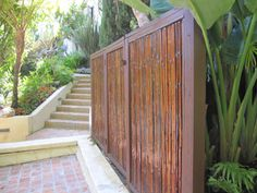 bamboo fence bamboo fencing outdoor patio with carbonized bamboo fencing