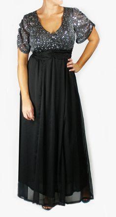 plus size evening wear | ... Size DRESSES :: Celine plus size Evening Formal Cocktail Party Dress