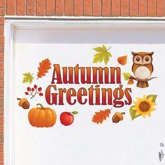Outdoor Fall Garage Door Magnet Autumn Decoration Thanksgiving Harvest Pumpkin…