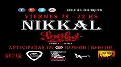 CGCWebRadioArgentina®: #NIKKAL VIERNES 29 DE ABRIL, 22HS #LIMBOPUB, GÜEMES Y LINIERS