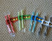 Ninjago Lollipop party Favors