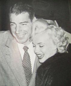 Marilyn and Joe DiMaggio..
