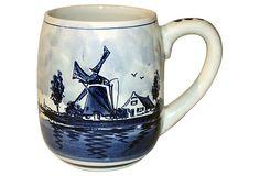 Delft Mug from Holland on OneKingsLane.com