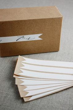 Flag labels by Besotted Brand