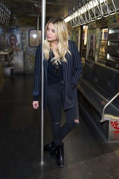 Ashley Benson at the Privé Revaux Fan Meet & Greet in NYC