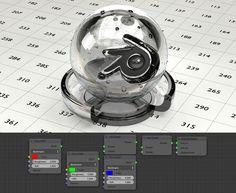 cycles render engine - How to create a mirror shader? Blender 3d, Glass Blender, Blender Models, 3ds Max Tutorials, Blender Tutorial, 3d Model Character, 3d Tutorial, Glass Material, Glass Texture