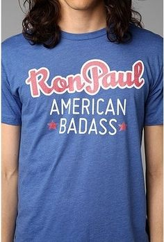 Ron Paul American Bada$$ Tee | Urban Outfitters Sells Profane Swag To Hipster Romney Supporters