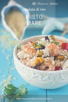Insalata di riso misto mare