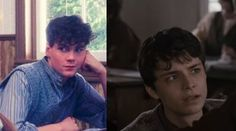Gilbert Blythe: Jonathan Crombie in the 1985 version and Lucas Jade Zumann in the 2017 version