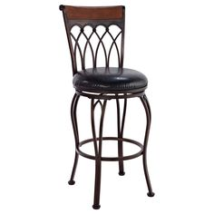 The Vin is a beautifully crafted stool with elegant lines and an intricate design that makes it truly special. Made from metal with dark bronze plating, this stool is made to last. Mixed material used in the backrest draws attention to its fine detail.