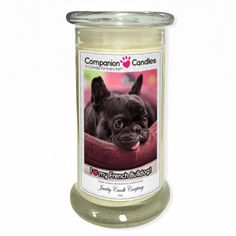 I Love My French Bulldog! - Photo Companion Candles - Pet Lover Gifts