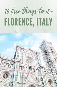 15 Free Things To Do In Florence, Italy. Perfect for those on a budget or looking for a local's experience to Florence. Italy Travel Tips, Rome Travel, Travel Destinations, Bali Travel, Travel Europe, Things To Do In Italy, Free Things To Do, Italy Vacation, Vacation Food