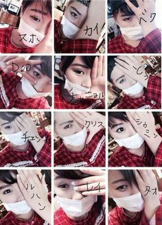 Japanese exotic cosplaying as EXO members. Like a freakin boss!! (these are the supposed translations, if you cant tell my just looking) Suho-Kai-Baek-D.O-Chanyeol-Sehun-Chen-Kris-Xiumin-Luhan-Lay-Tao