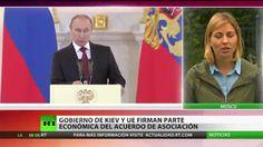 "Putin: ""Ucrania se dividió porque se intentó hacerla elegir entre Rusia ..."