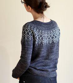 Ravelry: Darkwater pattern by Jennifer Steingass Ravelry, Needlework, Free Pattern, Pullover, Knitting, Crochet, Stuff To Buy, Sweater, Patterns