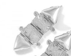 Silver In Gall Earrings Earrings, Silver, Stud Earrings, Money, Ear Rings, Ear Piercings, Pierced Earrings, Beaded Earrings Native