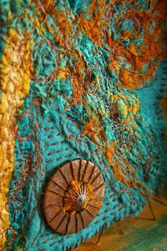 The Altered Page: fiber art by Vivian Paans [Bonder]