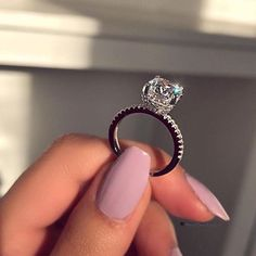 Details about Cushion Diamond Solitaire Engagement Wedding Ring White Gold - Wedding rings engagement - Anillos Dream Engagement Rings, Solitaire Engagement, Wedding Engagement, Solitaire Rings, Big Wedding Rings, Wedding Nails, Dream Wedding, Bridal Rings, Ring Verlobung