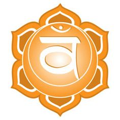 The Sacral Chakra is your passion and pleasure centre and it is located in the pelvic area. While the Root Chakra is satisfied with survival, the chakra seeks pleasure and enjoyment. Chakra Sacral, Second Chakra, Chakra Healing, Symbols And Meanings, Color Meanings, Sanskrit, Chakra Du Plexus Solaire, Les Chakras, Chakra Symbols