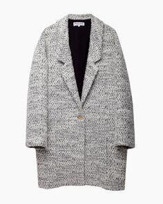 Apiece Apart  Vita Oversized Collar Coat