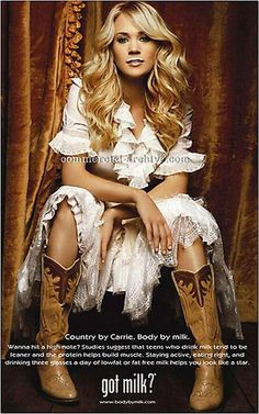 Carrie Underwood... Favorite current country musician... woot woot!!!