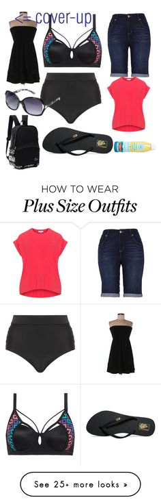 """""""Beach Date!!"""" by taoptimist on Polyvore featuring Cactus, Vans, Juicy Couture, Melissa McCarthy Seven7, Avenue, The Honest Company, beach and summerdate"""