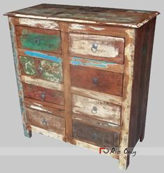 Buy Bedroom Chest of Drawers, Cheap Wooden Chest of Drawers Online Recycled Wood Furniture, Custom Furniture, Vintage Furniture, Food Storage Cabinet, Drawer Storage Unit, Bedroom Chest Of Drawers, Wooden Bedroom, Indian Furniture, Wood Chest
