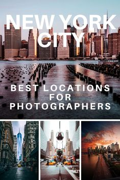 Here is a list of our favorite locations for photographers in New York City. If you're in New York or plan on visiting check out these location photography tips! Photography Terms, Photography Editing, City Photography, Amazing Photography, Nyc Instagram, City Break, New York Travel, Best Location, New York City