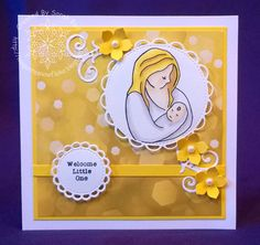 Designed By Sarah Bell for Little Claire Designs using Mother and Child