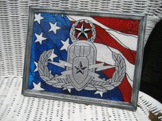 EOD Explosive ordnance disposal MASTER badge by CreationsbyGena, $27.00