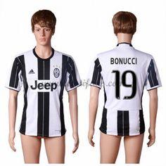 Juventus Fotbalové Dresy 2016-17 Bonucci 19 Domáci Dres