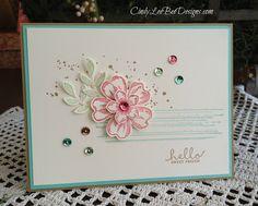 images stampin up flower shop | STAMPS: SU Flower Shop, SU Petite Petals, SU Gorgeous Grunge, SU Six ...