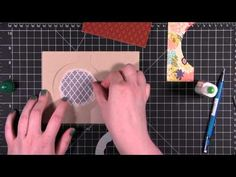 card making video: flip card ... this is a really clever version ... luv it!!