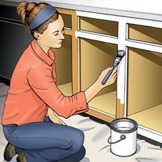 Painting Kitchen Cabinets - How to Paint Kitchen Cabinets - Popular Mechanics