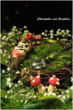 Customize Bird Nest Ring Bearer by JloveS
