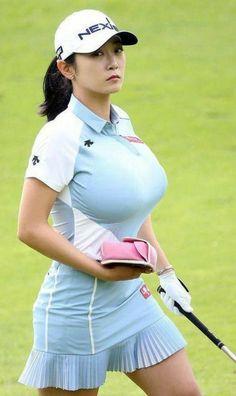 Cute Asian Girls, Beautiful Asian Girls, Beautiful Women Over 50, Great Women, Sexy Golf, Sporty Girls, Golf Outfit, Ladies Golf, Sports Women