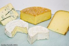 Irish cheeses from Paxton & Whitfield.