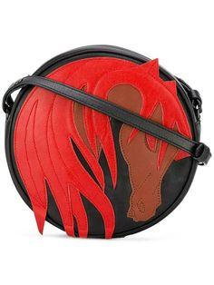 Just Cavalli horse pattern crossbody bag
