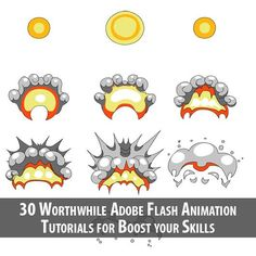 30 Worthwhile Adobe Flash Animation Tutorials for Boost your Skills