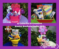 12 Colorful & Creative Easter Baskets for Under $20