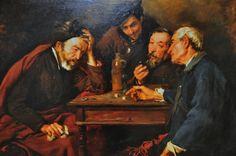 Simo Gomez - The Dice Players, 1874 at Museu Nacional d'Art de Catalunya