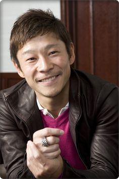 Yasuka Maezawa, 1975, entrepreneur and billionair, art collector. Founder of the Contemporary Art Foundation in Tokyo.
