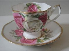 Queen Anne Lady Sylvia Cup and Saucer
